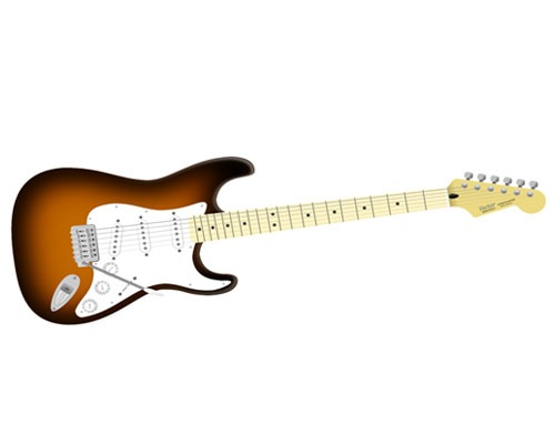 guitarillustration 50 Tutorials For Creating Vector Graphics Using Free Software Inskape