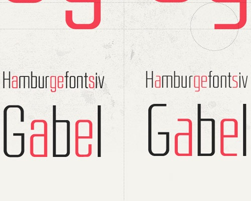 hamburge 100 Best free fonts to use for creating a logo