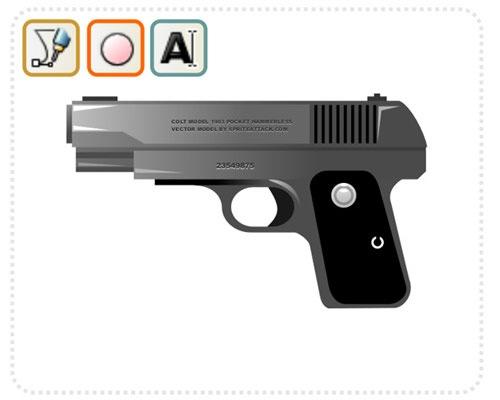 hand-gun-inkskape