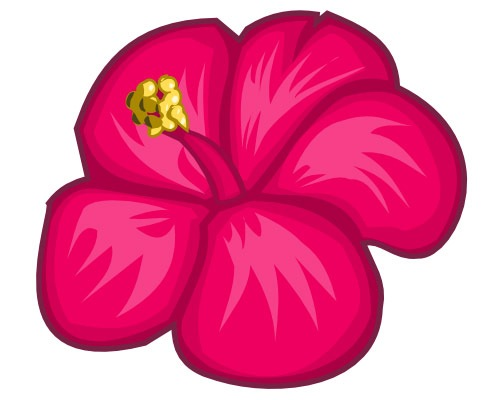 This Will Be A Simple Step By Tutorial On Illustrating Hibiscus