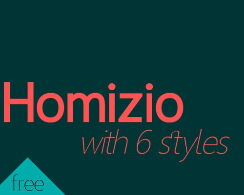 homizo 60 Best Free Fonts To Use In Your Next Logo Design Project