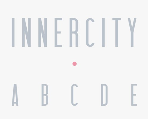 innercity 100 Best free fonts to use for creating a logo