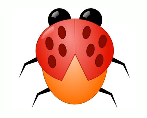ladybug 50 Tutorials For Creating Vector Graphics Using Free Software Inskape