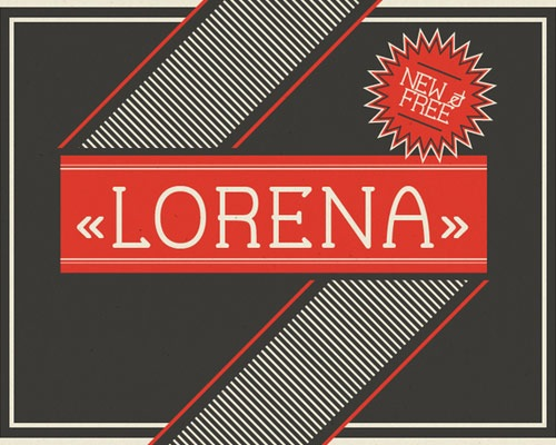 lorenafont 60 Best Free Fonts To Use In Your Next Logo Design Project