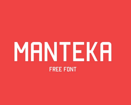 mantekafreefont 60 Best Free Fonts To Use In Your Next Logo Design Project
