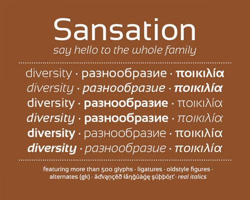 sensation-free-font