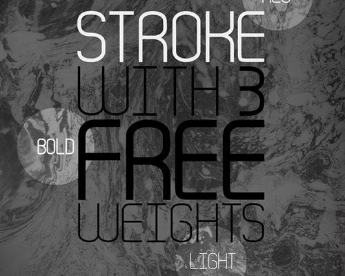 stroke-font