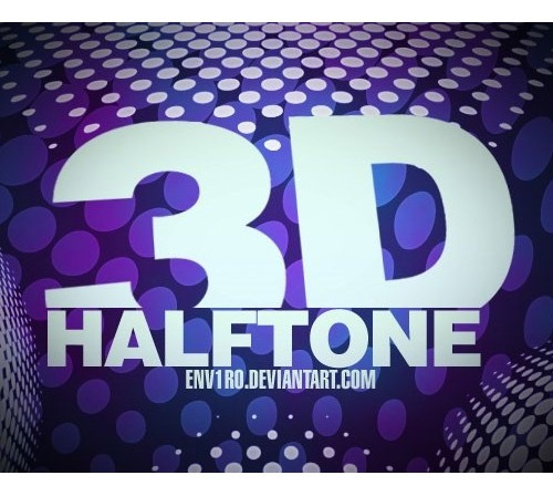 3d-halftone
