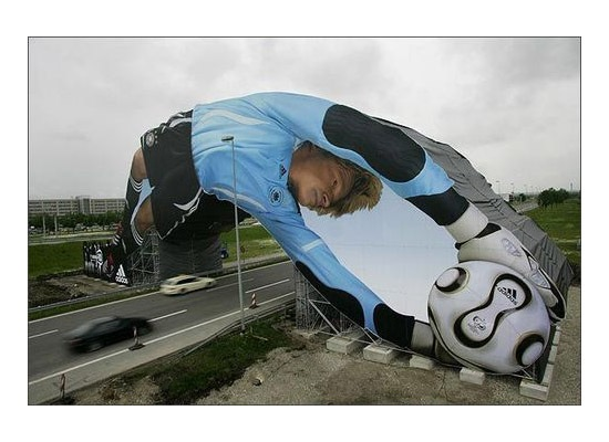 billboardfootballdesign 30 Extremely Creative Billboard Designs