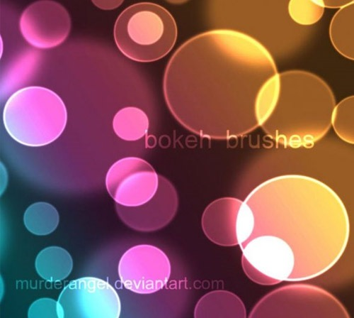 bokehcirclebrushes 50 Phenomenal Free Photoshop Brush Sets Every Designer Should Have