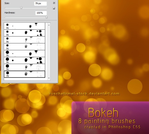 bokehphotoshopbrushes 50 Phenomenal Free Photoshop Brush Sets Every Designer Should Have