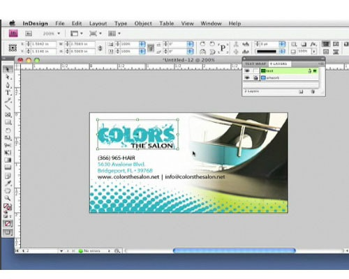 businesscard 35 Tutorials For Learning And Mastering Indesign