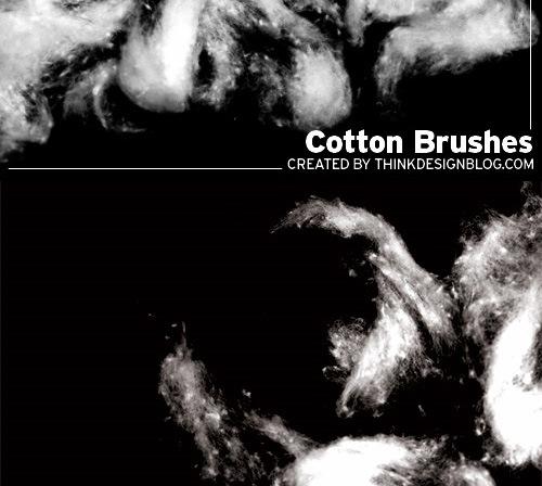 cottonbrushes 50 Phenomenal Free Photoshop Brush Sets Every Designer Should Have