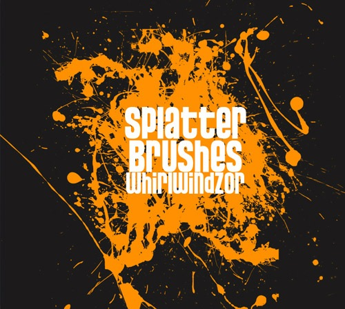 crazysplatterbrushes 50 Phenomenal Free Photoshop Brush Sets Every Designer Should Have