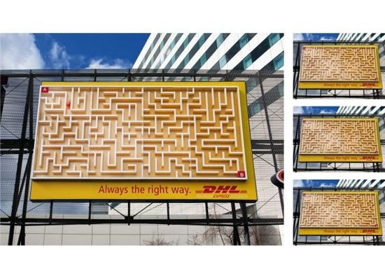 dhlmaze 30 Extremely Creative Billboard Designs