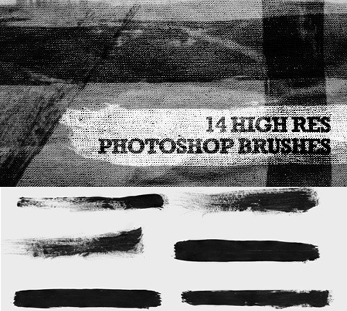 hirespaintphotoshopbrushes 50 Phenomenal Free Photoshop Brush Sets Every Designer Should Have
