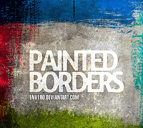 paintborders 50 Phenomenal Free Photoshop Brush Sets Every Designer Should Have