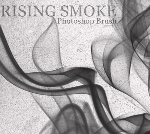 risingsmokebrushset 50 Phenomenal Free Photoshop Brush Sets Every Designer Should Have