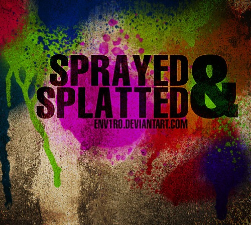 spray-splattered-brush