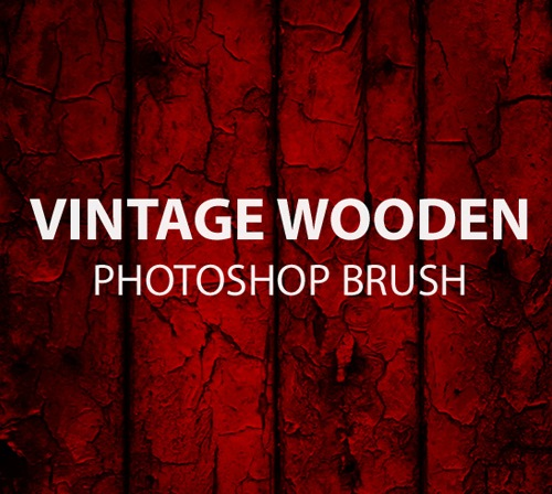 vinatgewoodenphotoshopbrush 50 Phenomenal Free Photoshop Brush Sets Every Designer Should Have