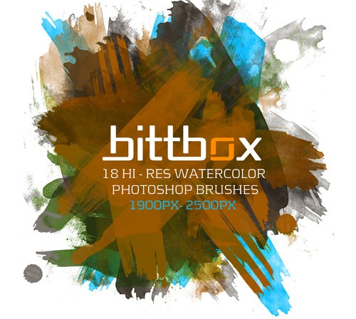 watercolorbrushes 50 Phenomenal Free Photoshop Brush Sets Every Designer Should Have