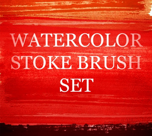 watercolorstrokebrushes 50 Phenomenal Free Photoshop Brush Sets Every Designer Should Have