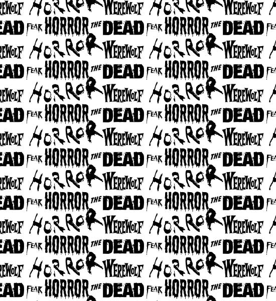 white-horror-typography-pattern
