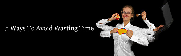 5 ways to avoid wasting time banner The Best Design Articles From 2012