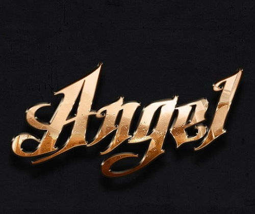 angel-gold-text-effect