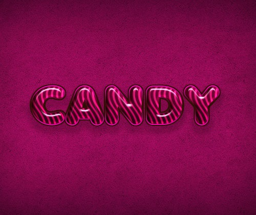 candytype 85 Best Photoshop Tutorials From 2012