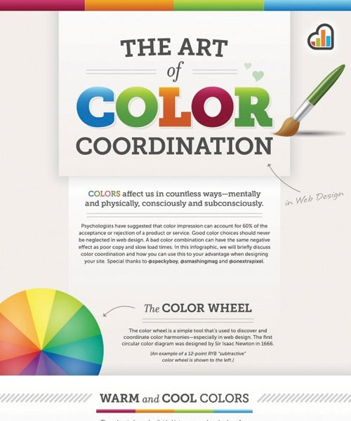 colorcombination 20 Must See Infographics For Web Designers