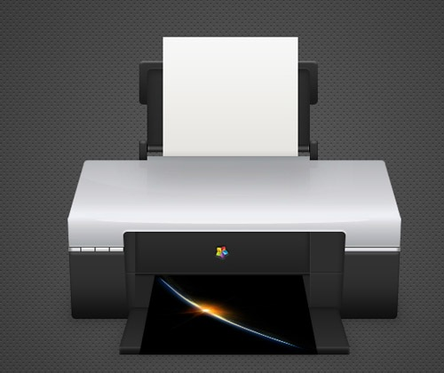 detailed-printer-illustration
