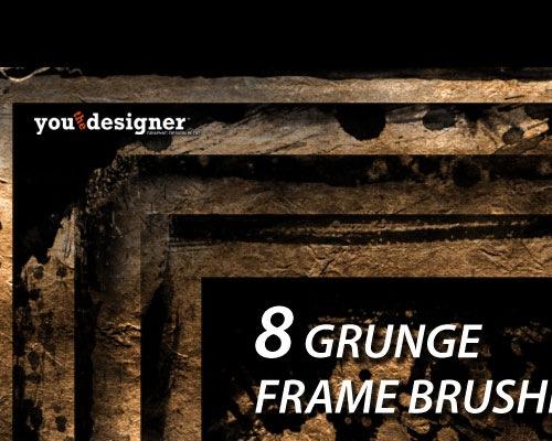 grunge-frame-brushes