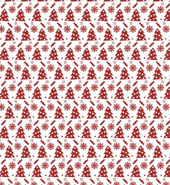 red-festive-pattern