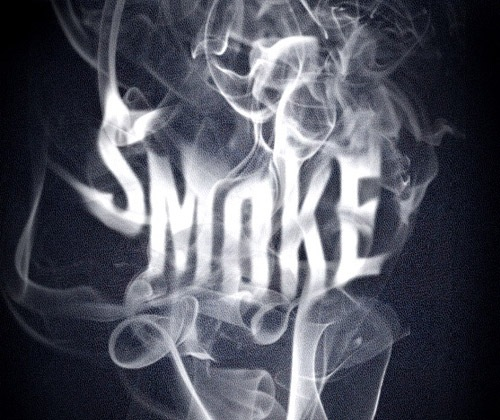 smoketext 85 Best Photoshop Tutorials From 2012