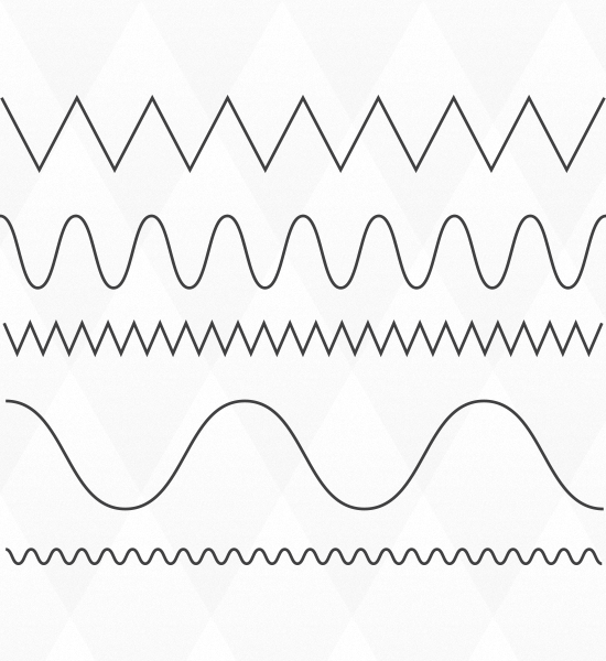 Drawing Lines In Illustrator : Quick tip how to create wavy and zig zag lines in