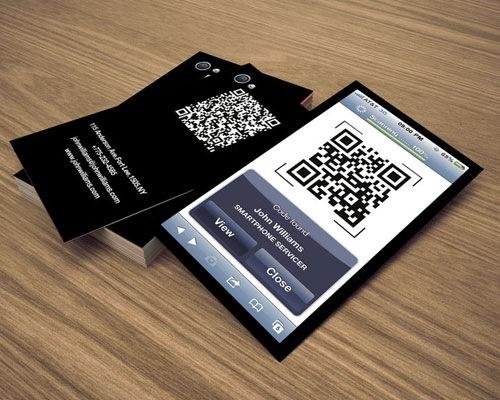 iphone-business-qr