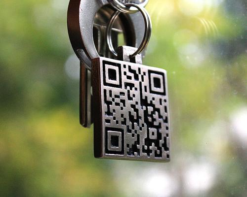 key-ring-qr-code