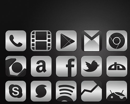 metalicicon 40 Best Free Icon Sets Released 2012