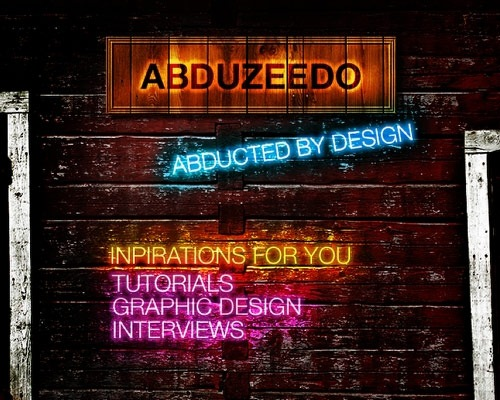 neontexteffect 20 Tutorials For Learning Adobe Fireworks Basics