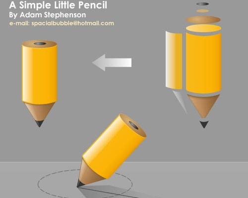 pencilicon1 40 Tutorials for learning and mastering Fireworks
