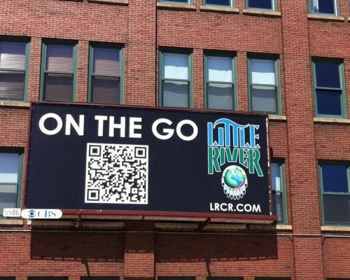 qrbillboard 25 Smart And Creative Ways To Implement QR Codes