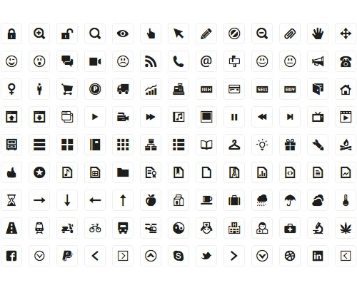 wireframeicons 40 Best Free Icon Sets Released 2012