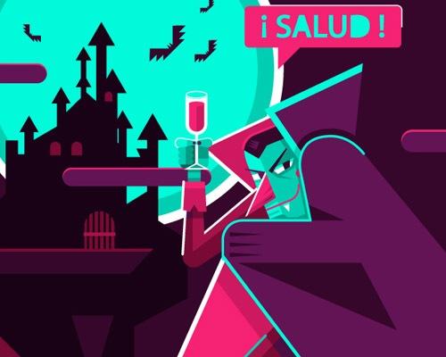 vampireillustration Best Of Web And Design In November 2012