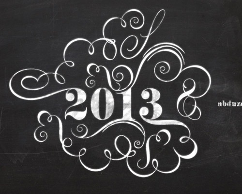 chalktypography Best Of Web And Design In December 2012