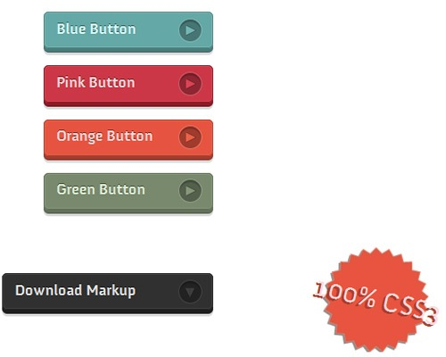 css3buttons 25 CSS3 Free Buttons For Designers