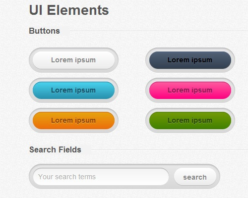 designercssuikits 25 CSS3 Free Buttons For Designers