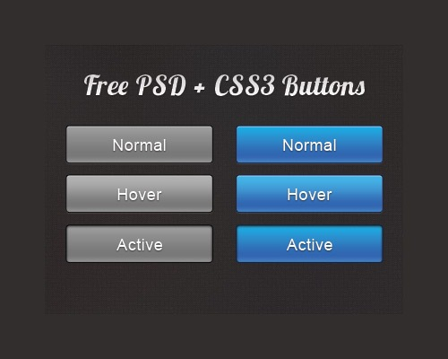 shinyboldcssbutton 25 CSS3 Free Buttons For Designers