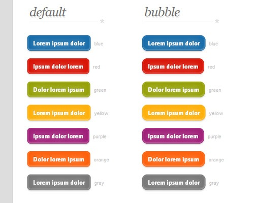 zardibuttons 25 CSS3 Free Buttons For Designers