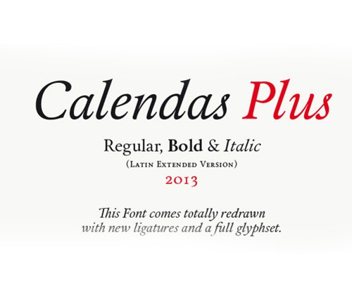 calendasplus 50 Best Free Fonts From 2013